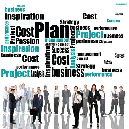 Personas, Grupo de personas, negocios. Foto de archivo