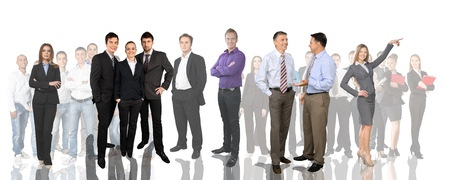 People, Group Of People, Business. Stock Photo - 41879916