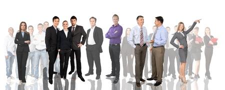 people  camera: Personas, Grupo de personas, negocios. Foto de archivo