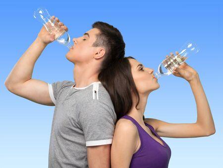 sediento: Agua, Beber, Deporte.