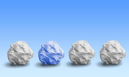 paper fold: Paper, Crumpled, Paper Ball.