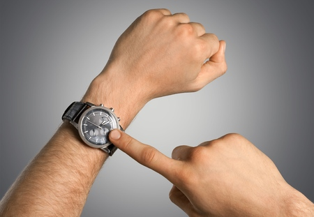 wristband: Wristband, watch, silicone.