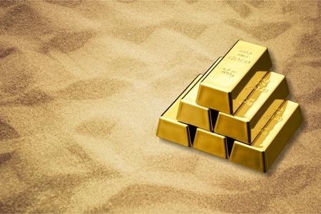 gold metal: Ingot, Gold, Metal.