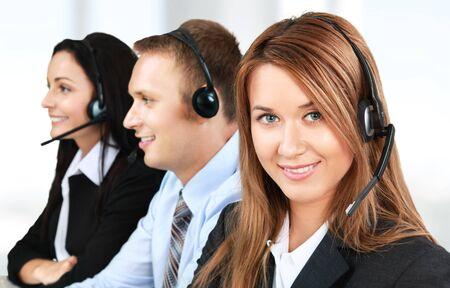 call center representative: Service, Customer Service Representative, Call Center.