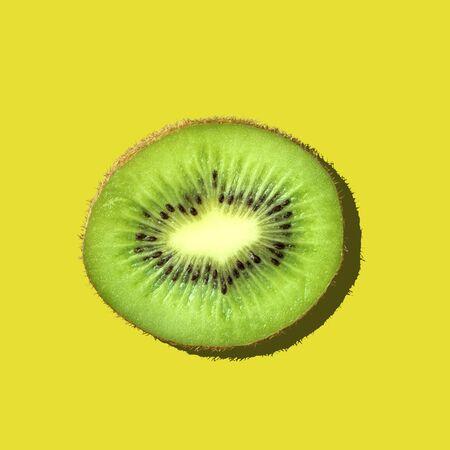 portion: Kiwi, Fruit, Portion. Stock Photo