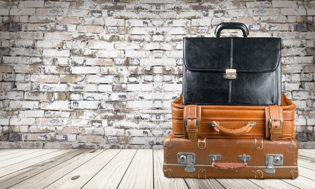 getting away from it all: Suitcase, Retro Revival, Luggage.