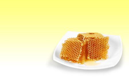honey cell: Honey, Beeswax, Hexagon.