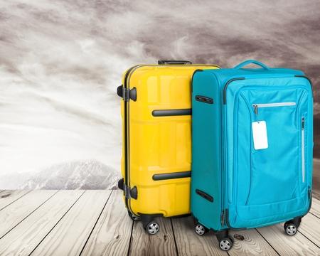 Luggage, Suitcase, Bag.