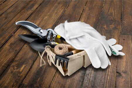 work glove: Protective Glove, Work Glove, Working. Stock Photo