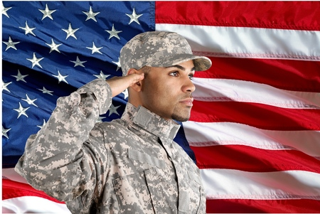 Armed Forces, Military, Saluting.