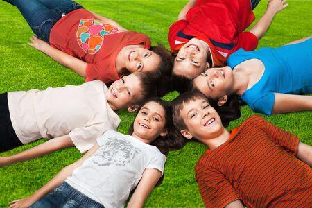 offspring: Niño, Hijos, la camiseta. Foto de archivo