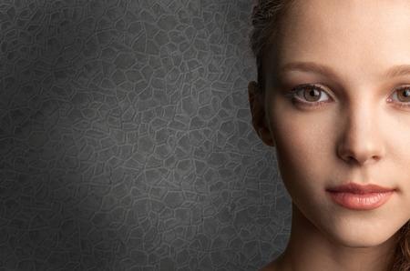 ojo humano: Ojo humano, Cara humana, Mujeres. Foto de archivo