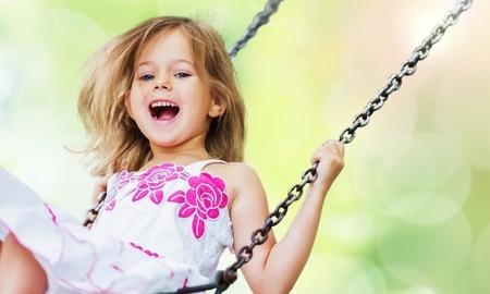 Child, Playing, Playground. Stock Photo