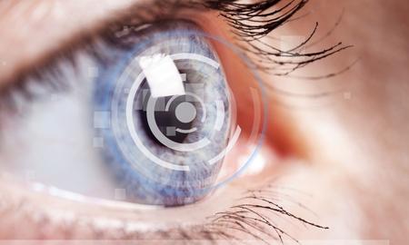 oči: Katarakta, oko, vidění. Reklamní fotografie