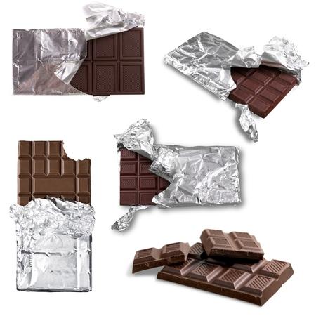 Candy Bar, Chocolate, Foil.