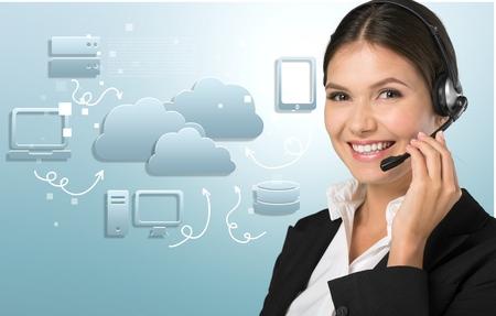 customer service representative: Call Center, Customer Service Representative, Service.