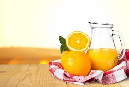 witaminy: Sok, pomarańczowy, witamina C. Zdjęcie Seryjne