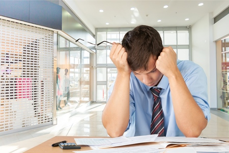 Emotional Stress, Bankruptcy, Finance.