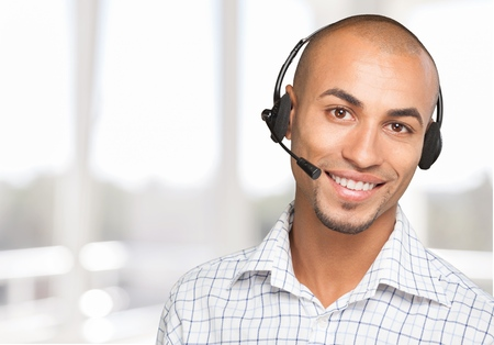 customer: Headset, Service, Customer.