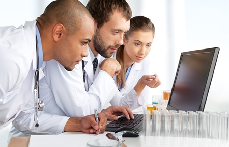 Laboratory, Healthcare And Medicine, Medical Exam.
