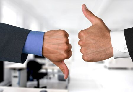thumbs up business: Thumbs Up, Thumbs Down, Thumbs up and thumbs down.