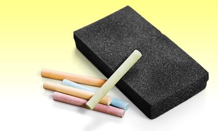 chalk eraser: Chalk, Eraser, Board Eraser.