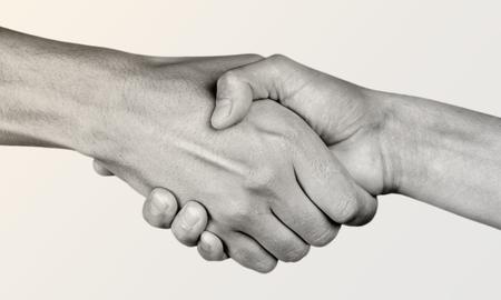 strong partnership: Help, hand, partnership.