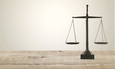 defendant: Scale, law, lawyer.