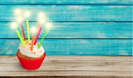 chocolate birthday cake: Birthday, cake, sparkler.