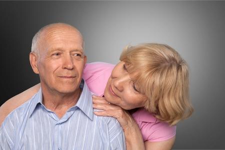 La maladie d'Alzheimer, la démence, Troisième âge. Banque d'images - 42076787