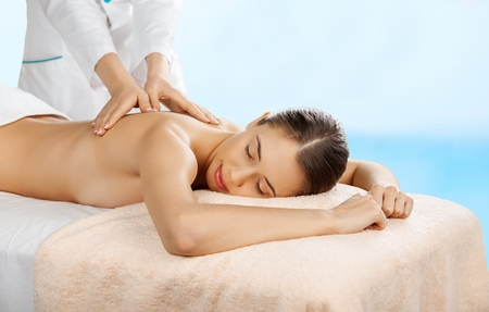 lymphatic drainage: Relax, relaxation, spa.