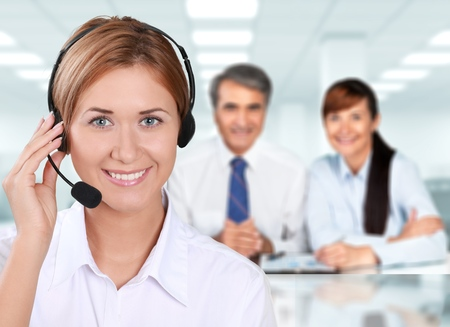customer service representative: Call Center, Customer Service Representative, Service.