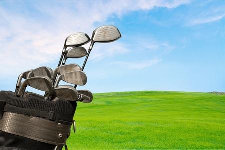 ゴルフ、ゴルフクラブ、ゴルフコース。