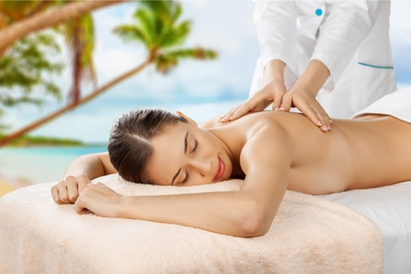 lymphatic drainage therapy: Relax, relaxation, spa.