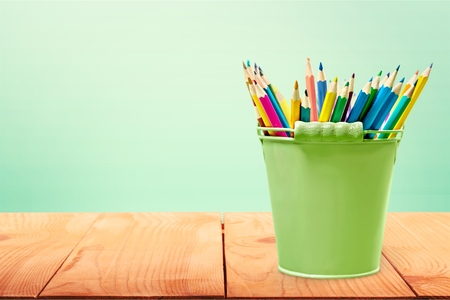 hued: Pencil, white, isolated.