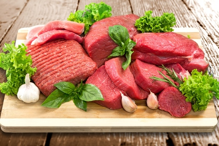 the freshness: Meat, Freshness, Butchers Shop.