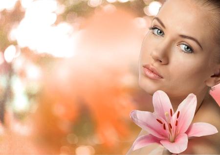 rosto humano: Beleza, Mulheres, Face Humana. Banco de Imagens