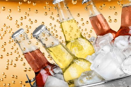 medium group of objects: Drink, Bottle, Soda.
