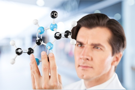 laboratory research: Scientist, Research Laboratory. Stock Photo