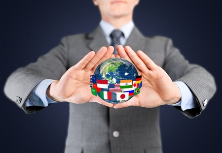 Globe, Global Communications, Planet.