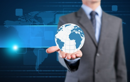 globalization: Concept, globalization, icon.
