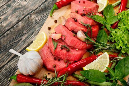 freshness: Fresco, carne, frescura. Foto de archivo