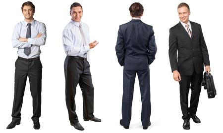 business smile: El hombre de negocios, negocios, sonrisa.