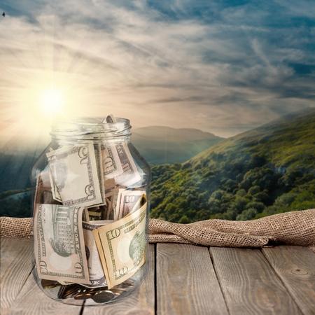 coin box: Donation Box, Jar, Tip.