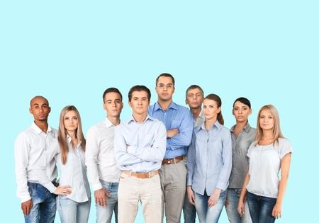 gente adulta: Personas, Grupo de personas, negocios. Foto de archivo