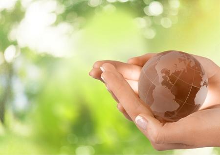 globe world: Globe, Human Hand, World Map.