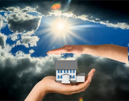 domestic life: House, Domestic Life, Human Hand.