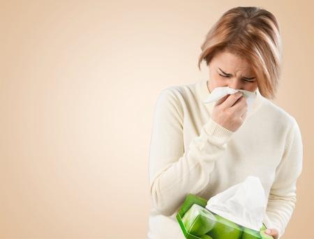 Krankheit, Erkältung und Grippe, Grippevirus.