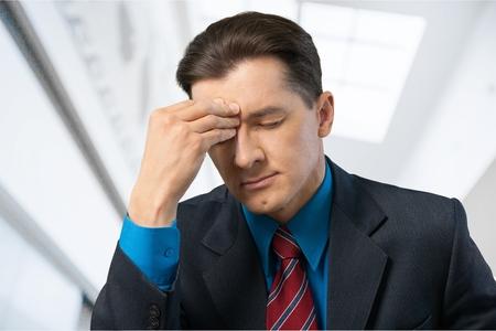 emotional stress: Emotional Stress, Businessman, Men. Stock Photo