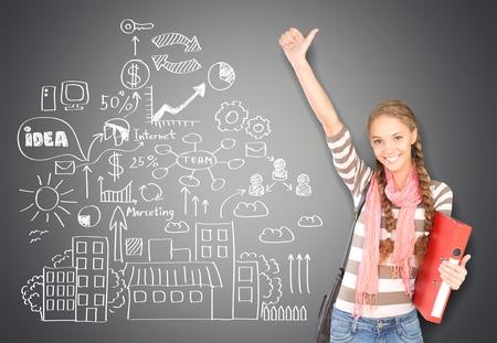 fille indienne: Étudiant, étudiant, Adolescent.